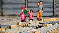 Barış Pınarı Harekatı bölgesine Türkiye'den 7 tır un yardımı: Karınca kararınca