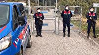 Bir mahalle karantinaya alındı: Jandarma barikat kurdu
