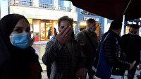 """Taksim Meydanı'nda sigara içtiği için ceza yedi, """"Ben ünlüyüm, beni çekmeyin"""" dedi"""