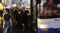Ankara da İstanbul gibi: Toplu taşıma araçlarında yoğunluk mesafe kurallarını ihlal etti