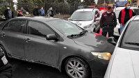 Trafiğin ortasında epilepsi nöbeti geçirdi: 4 otomobile çarptı