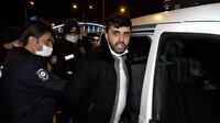 Bursa'da yasağı delen alkollü sürücü ve arkadaşı, polise ve bekçiye saldırıp küfür etti
