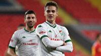 Bursaspor'un genç yıldızı Batuhan Kör 2 maçta 6 gol attı