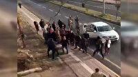 Mardin'de cenaze sonra akrabalar arasında taşlı, sopalı, silahlı kavga çıktı: O anlar kameraya yansıdı