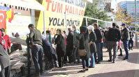 Antalya'dan şoke eden görüntüler: Bedava korona dağıtıyorlar