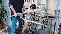 """""""Baba koşabilecek miyim?"""" diye sormuştu yeni protezine kavuştu"""