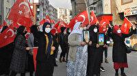 Şırnak'ta HDP'li grup, PKK'ya tepki için eylem yapan terör mağduru anneleri taşladı
