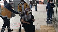 Kocasının bıçakladığı bir çocuk annesi polis merkezine sığındı