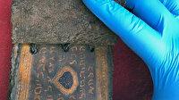 Muğla'da ele geçirildi: Tam 3 bin 500 yıllık altın varaklı Tevrat