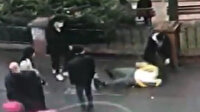 Takip edip çelme taktılar, ardından darp ettiler: Sağlık çalışanlarına uygulanan şiddet kamerada