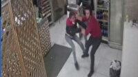 Lokantadan para çalan şüpheli ile işyeri sahibi birbirine girdi