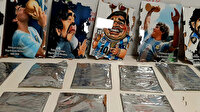 Maradona tablolarına saklanmış 2 kilogram 650 gram kokain ele geçirildi