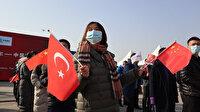 Çinlilerden Türkiye'nin ihracat treni için tören