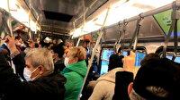 İstanbul'da metro ve metrobüslerdeki yoğunluk ilk günkü gibi