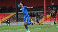 TFF 1. Lig'e damga vuran gol: Sekerken 50 metre depar attı ve fileleri havalandırdı