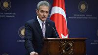 Dışişleri Bakanlığı Sözcüsü Aksoy: Yunanistan'ı sorumlu şekilde hareket etmeye davet ediyoruz