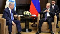 Putin ve Netanyahu'dan Suriye görüşmesi