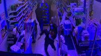 Alışverişe gitmişti silahlı soygunu önledi