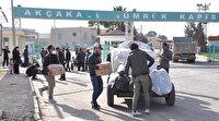 Binlerce Suriyeli ülkesine dönemeye devam ediyor:  Kasım ayına kadar 419 bini kesin dönüş yaptı