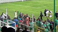 Antalya'da futbolcular birbirine girdi: Polis arbedeyi güçlükle önledi
