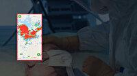 Türkiye'nin koronavirüs yoğunluk haritası