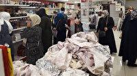 Zeytinburnu'nda zabıta ekibini şaşırtan manzara: İndirimi duyan mağazaya koştu