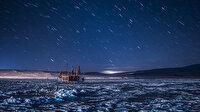 Başka bir gezegen gibi: Çıldır Gölü'nün masalsı kış güzelliği görenleri hayran bırakıyor