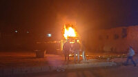 El Bab'da bomba yüklü kamyonet patladı: Sivil yaralılar var