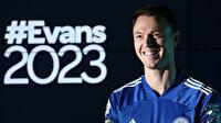 Leicester City Evans'ın sözleşmesini 2023'e kadar uzattı