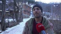 3 çocuk mesaisi: 300 koyunuyla karla kaplı meralarda hayvancılık yapıyor