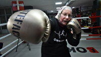 Türkiye'ye yerleşen Belçikalı Naciye nine boks tutkusuyla gençlere taş çıkartıyor