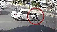 Küçükçekmece'de kazalarıyla ünlü olan kavşak, sosyal medyada milyonlarca kez izlendi