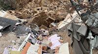 İtalya'da heyelan nedeniyle bir otel yıkıldı