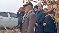 Kahramanmaraş'ta Kasım Süleymani posteri önünde yemin: Sen ölmedin huzurumuzdasın emrini bekliyoruz