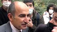 Rektör Melih Bulu Boğaziçi Üniversitesi'nde eylemcilerin yanına gitti