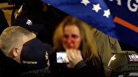 ABD'de Trump destekçileri ile polis birbirine girdi