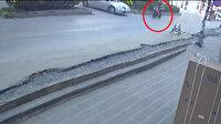 Kaskını koluna takan motosikletli, yaptığı kazada ağır yaralandı