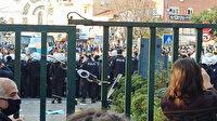 Boğaziçi Üniversitesi kapısına takılan kelepçeyle ilgili inceleme başlatıldı