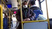 65 yaş üstü kısıtlama tedbirlerine uymayan kadın otobüse bindi: Benim sağlığım yerinde