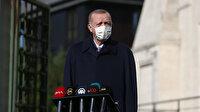 Cumhurbaşkanı Erdoğan'dan Bahçeli ve Asiltürk ziyareti yorumu: Terörle mücadelede yalnız kalmamak için görüşmelere devam edeceğim