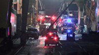 Tuzla'da tersaneler bölgesinde korkutan gemi yangını