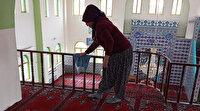 Aydınlı kadınlardan örnek davranış: Cuma namazı öncesi camileri temizlediler
