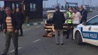 Rize'de dehşete düşüren görüntü: Bagajdan çıkarıp sokak ortasına atarken yakalandılar