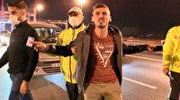 Polisten kaçtı yakalanınca bağırdı: Halim yok, aşk acısı çekiyorum!