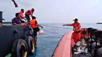 Endonezya'da uçağın düştüğü bölgede bulunan ceset parçalarına DNA testi yapılacak