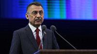 Fuat Oktay ile İbrahim Kalın'dan 'sözde cumhurbaşkanı' tepkisi