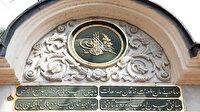 Osmanlı mimarisinde Kazasker Mustafa İzzet yazıları