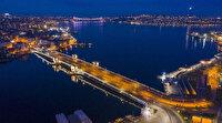 Kuş bakışı görüntülerle İstanbul'da pandemi