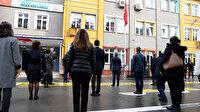 İstanbul'da okullarda İstiklal Marşı okundu