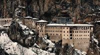 Sümela Manastırı Mart ayına kadar ziyaretçi kabul edilmeyecek: Güçlendirme çalışması yapılıyor